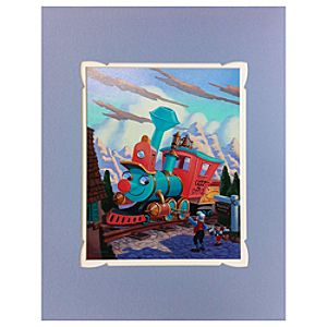 Casey Jr. Deluxe Print on Paper