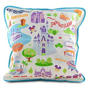 Walt Disney World Pillow by Shag