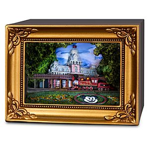 Walt Disney World Main Street Train Station Gallery of Light by Olszewski