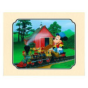 Walts Miniature Backyard Deluxe Print on Paper