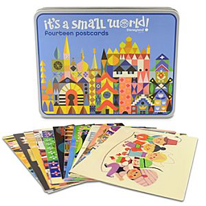 its a small world Postcard Set -- 12-Pc.