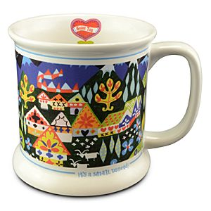 its a small world Mug -- German