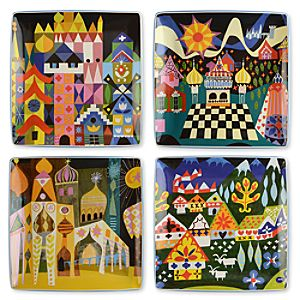 its a small world Plate Set -- 4-Pc.
