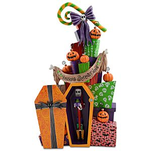 Stack of Presents Nightmare Before Christmas Figurine