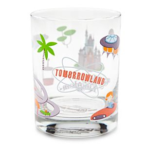 Walt Disney World Tomorrowland Glass by Shag