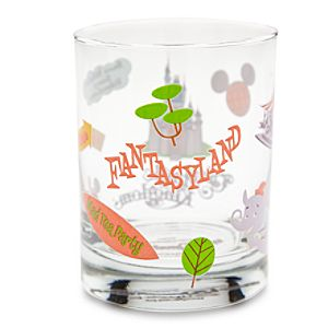 Walt Disney World Fantasyland Glass by Shag