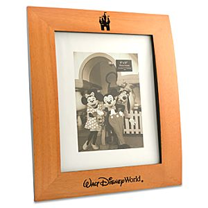 Walt Disney World Resort Wood Photo Frame -- 8 x 10