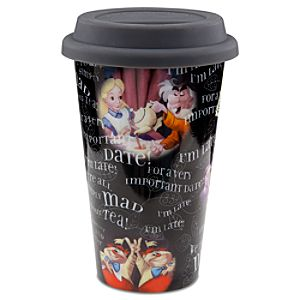 Alice in Wonderland Travel Tumbler