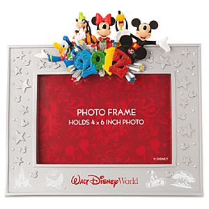 2012 Walt Disney World Resort Mickey Mouse Photo Frame -- 4 x 6
