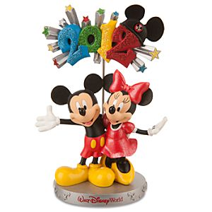 2012 Walt Disney World Minnie and Mickey Mouse Photo Clip Frame