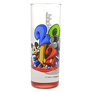 2012 Walt Disney World Mickey Mouse Mini Glass