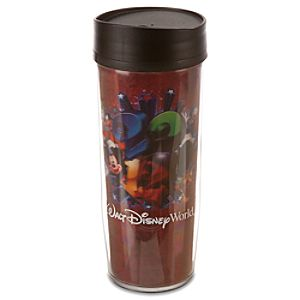 Lenticular 2012 Walt Disney World Resort Travel Tumbler