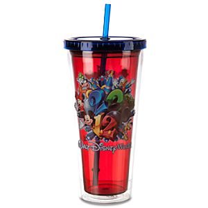 Thermal 2012 Walt Disney World Resort Tumbler with Straw