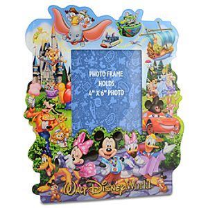 Storybook Walt Disney World Photo Frame -- 4 x 6