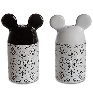Gourmet Mickey Mouse Salt and Pepper Set -- 2-Pc.