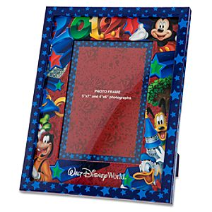 Adjustable 2012 Walt Disney World Mickey Mouse Photo Frame -- 5 x 7 or 4 x 6