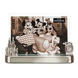 Metal Walt Disney World Resort Photo Frame -- 4 x 6