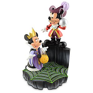 Villains Minnie Mouse and Mickey Mouse Figure -- 12 H