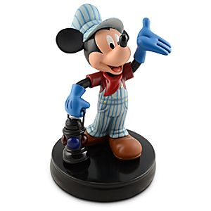 Train Engineer Mickey Mouse Figure -- 11 H