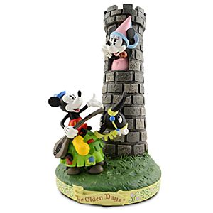 ''Ye Olden Days'' Minnie and Mickey Mouse Figure -- 12'' H