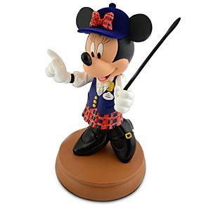 Tour Guide Minnie Mouse Figure -- 10 H