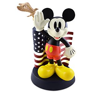 Flag Mickey Mouse Figure -- 14 H