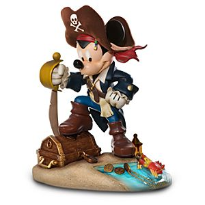 Pirate Mickey Mouse Figure -- 13 H