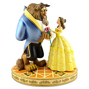 Beauty and the Beast Figure -- 14'' H