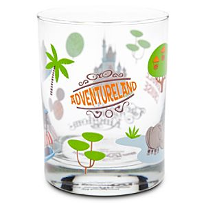 Walt Disney World Adventureland Glass by Shag