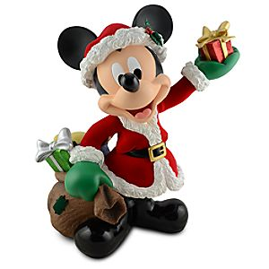 Santa Mickey Mouse Big Figure