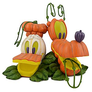 Light-up Donald Duck and Pluto Jack OLantern