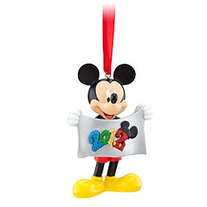 2012 Logo Walt Disney World Mickey Mouse Ornament