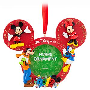 2012 Walt Disney World Mickey Mouse Icon Photo Frame Ornament -- 2 x 2