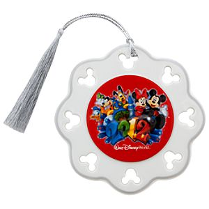 2012 Walt Disney World Mickey Mouse Snowflake Ornament