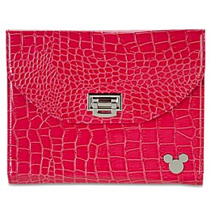 Crocodile Mickey Mouse Tablet Case -- Pink