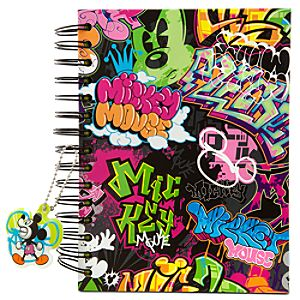 Double-Sided Sketch Art Mickey Mouse Journal