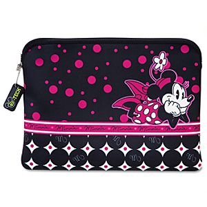 Reversible Pop Dots Minnie Mouse Laptop Sleeve