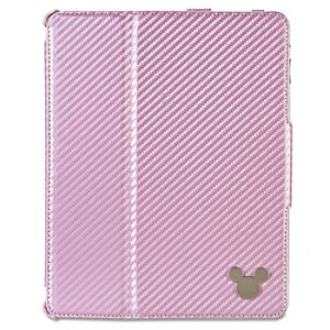 Mickey Mouse iPad 2 Portfolio-Style Clip Case -- Pink