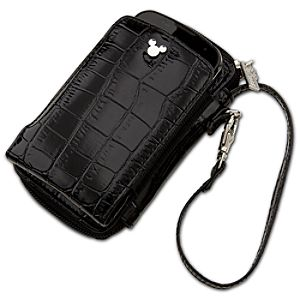 Crocodile Mickey Mouse Smartphone Case and Purse -- Black