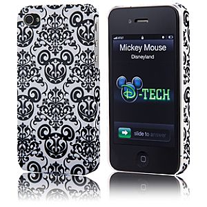 Filigree Mickey Mouse iPhone 4 Case