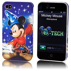 Sorcerer Mickey Mouse iPhone 4 Case
