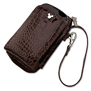 Crocodile Mickey Mouse Smartphone Case and Purse -- Brown