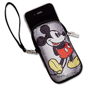 Sequined Mickey Mouse Smartphone Case