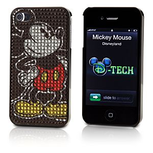 Sparkle Mickey Mouse iPhone 4 Case