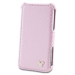 Portfolio-Style Mickey Mouse iPhone 4 Case -- Pink