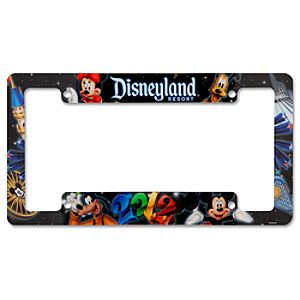 2012 Disneyland License Plate Frame