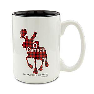 Epcot World Showcase Canada Pavilion O Canada Moose Mug