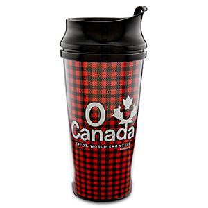 Epcot World Showcase Canada Pavilion O Canada Travel Mug