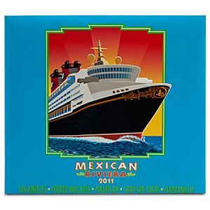 Disney Cruise Line 2011 Mexican Riviera Scrapbook -- Large