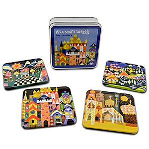 its a small world Coaster Set -- 4-Pc.